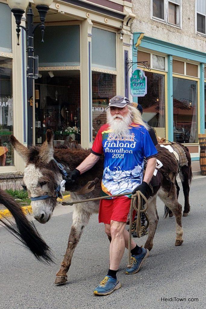 Burro Racing in Idaho Springs, Colorado Race Your Ass Off. HeidiTown (4)