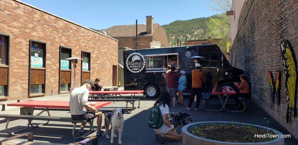 Glenwood Springs, Colorado Bring the Dog, Bring a Bathing Suit and Go. HeidiTown.com, Mama's Pierogi