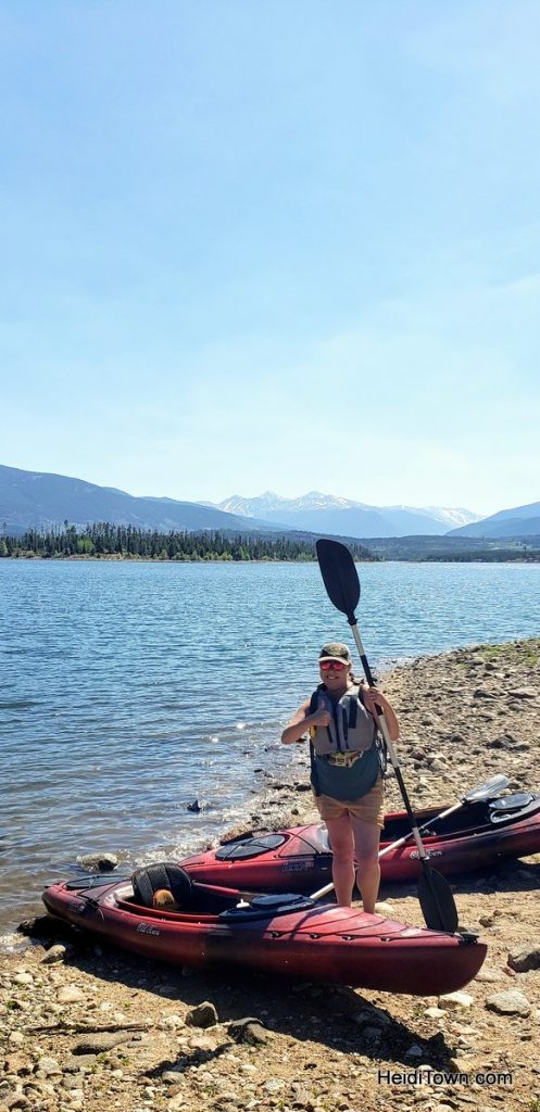 Kayak Lake Dillon From Frisco Bay Marina in Frisco, Colorado. HeidiTown (6)