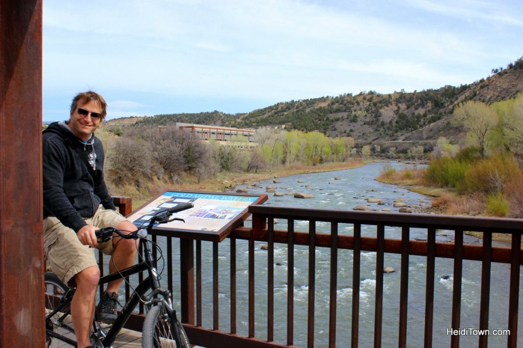 Let's Go Ride Bikes 3 Easy Bike Paths in Colorado. Animas River Trail in Durango. HeidiTown 2