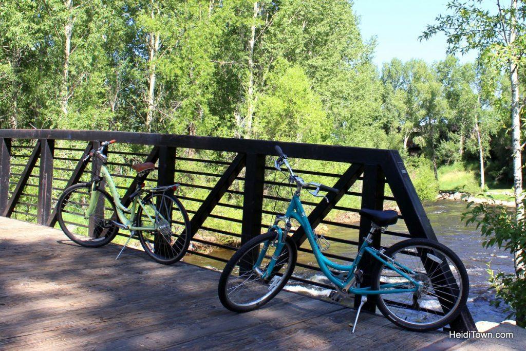 Let's Go Ride Bikes 3 Easy Bike Paths in Colorado. Steamboat Springs. HeidiTown (3)