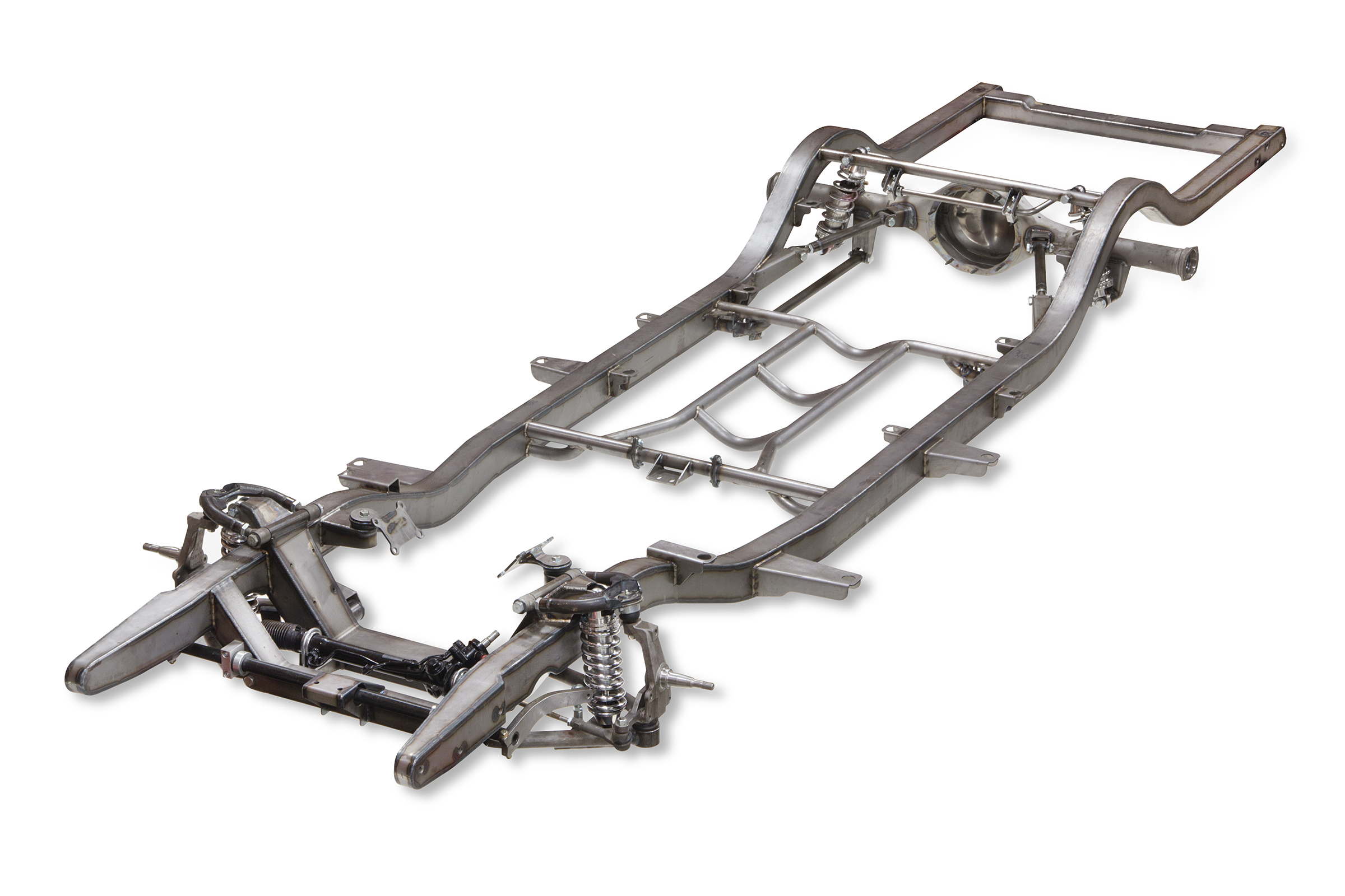 Tri 5 Chevy Pro G Front 4 Link Rear Complete Frame