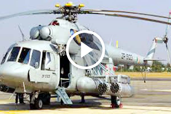 Mi-17 transport helicopter crash land in Afghanistan schedul fly for Russia.