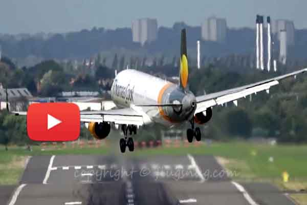 Great video terrible crosswind affected Airbus landing made impossible.