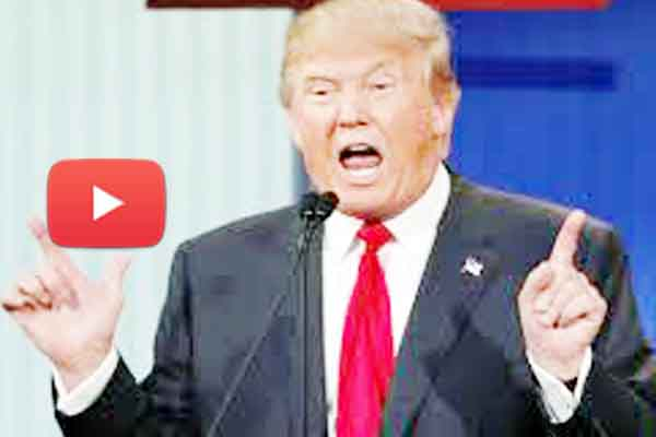United States president Donald Trump express I love Pakistan video viral on social media.
