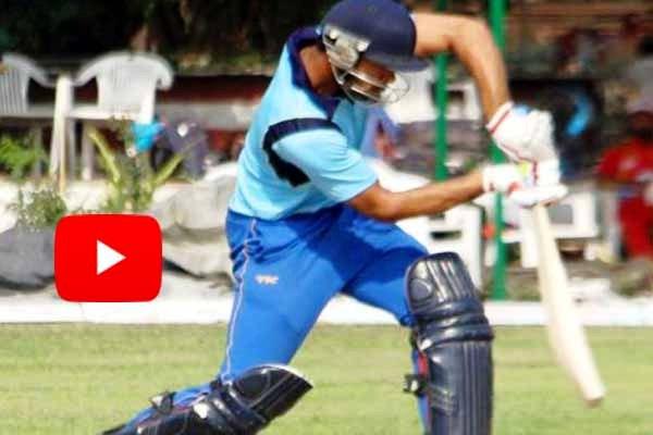World record 72-ball 302-runs batsman smashed triple century in T20 cricket match.