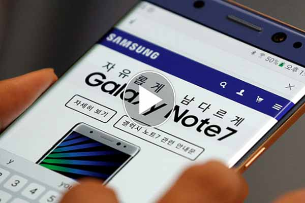 Lowest price Samsung start selling refurbished version Galaxy Note 7 version Galaxy S8 price.