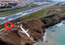 Pegasus airlines Boeing 737-800 aircraft plunged down mass panic sparked among travelers and crew-members.