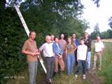De steenuilenwerkgroep bij de familie v Rijsingen
