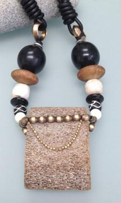 Bone Deep – Single Strand Necklace With Pendant