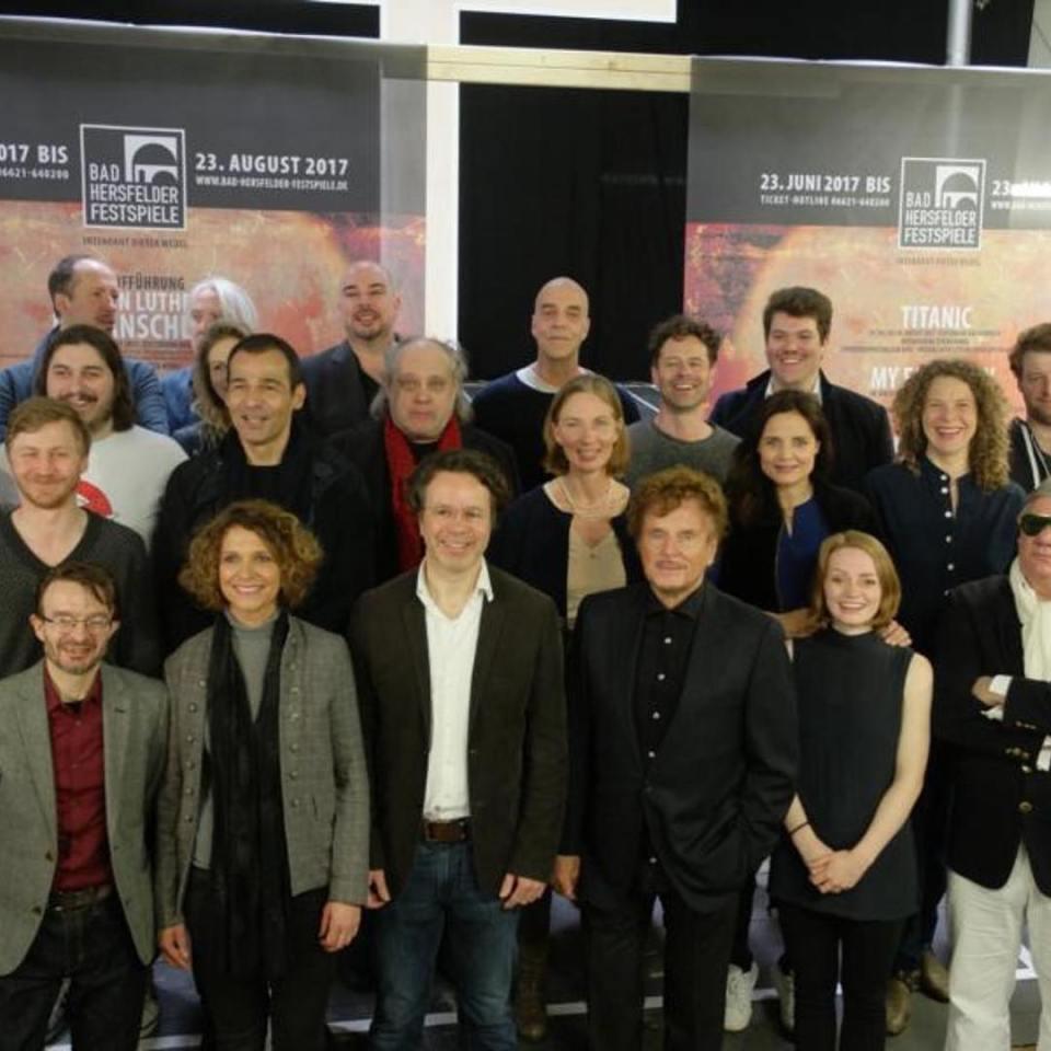Probenbeginn bei den 67 Bad Hersfelder Festspielen Martin Luther derhellip