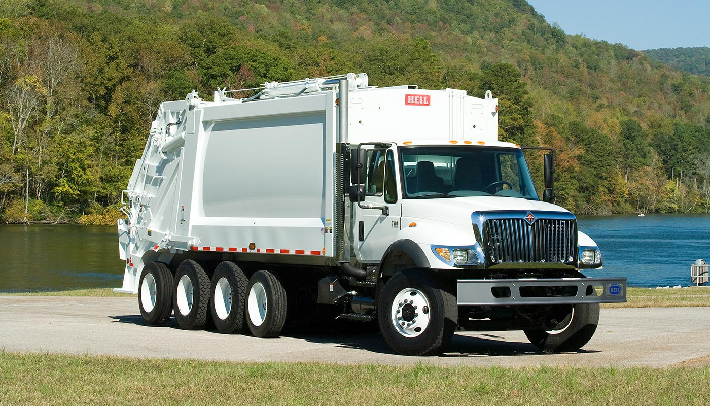 Commerical Vehicles Garbage Truck
