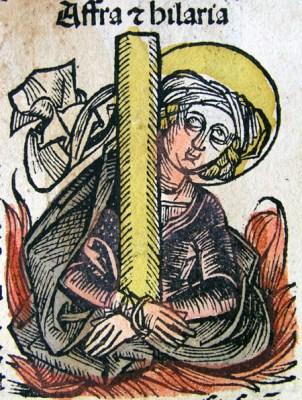 Buchmalerei, 1493, Hartmann Schedels Nürnberger Weltchronik