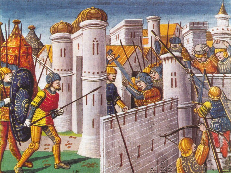 The Crusaders conquer Constantinople.