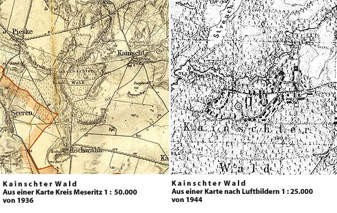 Regenwurmlager Kainscht - Karte