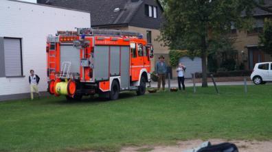 Auch in diesem Jahr unterstützt uns die freiwillige Feuerwehr