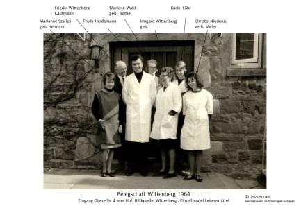 1009 1964 Wittenberg Belegschaft