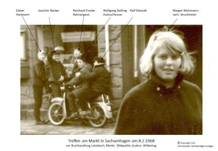 1112 1968 Margot Am Markt
