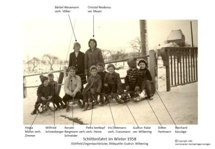 1401 1958 Kinder Auebrücke