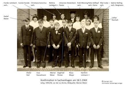 1512 1969 Konfirm Sachsenhagen