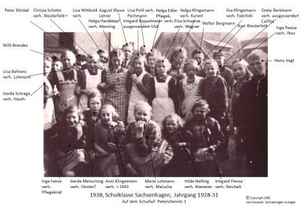 1902 1938Schulklasse Jahrg 1928