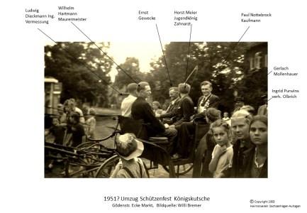 2003 1951 Schützenfest Kutsche