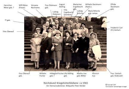 2118 1955 Kegelclup Gut Holz Ratskeller Hermannsdenkmal
