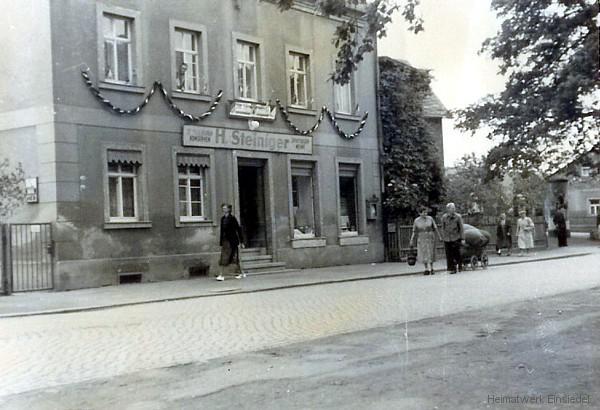 Lebensmittel Heinrich Steiniger Einsiedel 1955