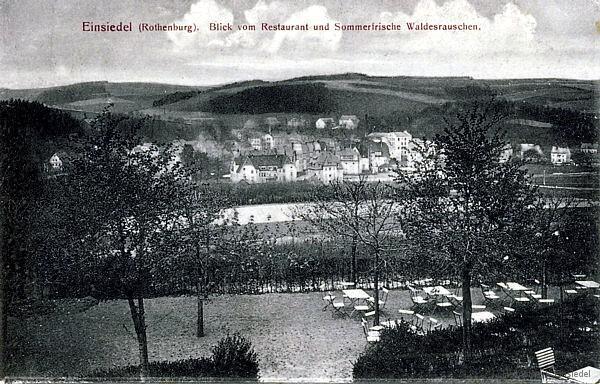 Rothenburg von Waldesrauschen aus