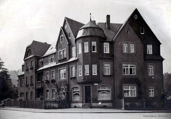 Bäckerei Hager Einsiedel 1944