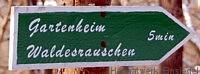 Gartenheim Wegespfeil