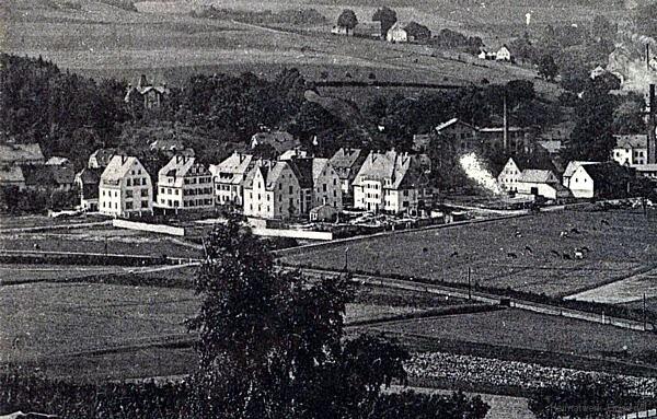 Einsiedel Rothenburg um 1914