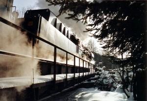 Dampflok 50 3648-8 mit Einheitstender am 20. Februar 2005