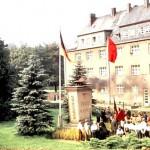 Ewige Mahner auf dem August-Bebel-Platz in Einsiedel