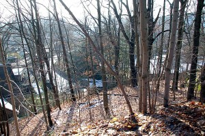 Blick von der Berggasse Einsiedel 2007