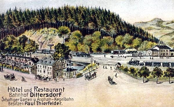 Von Erfenschlag über Einsiedel nach Dittersdorf