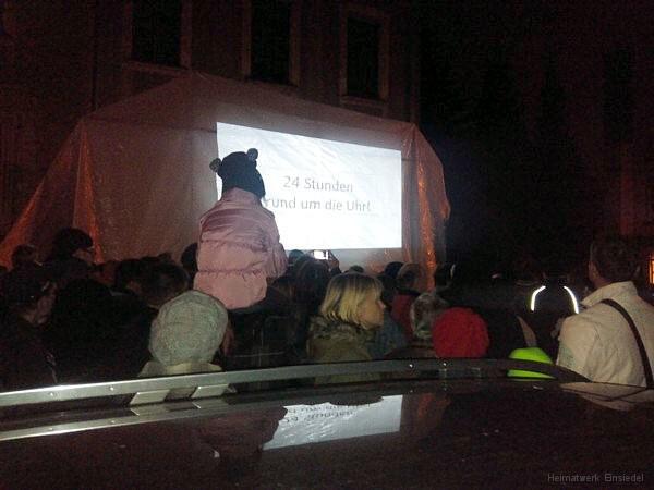 Demo kritischer Bürger in Einsiedel 21.10.15