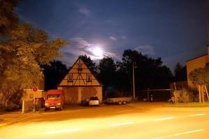 19. August 2005 bei Vollmond