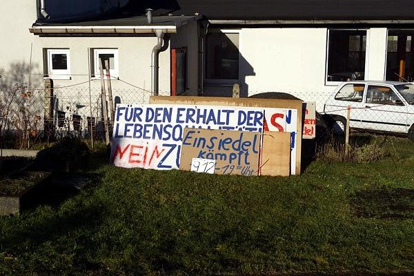 Die Banner im Weihnachtsfrieden
