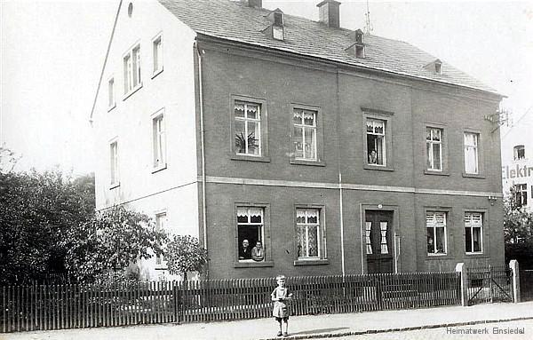 Einsiedler Hauptstraße 64 in den 1920er Jahren.