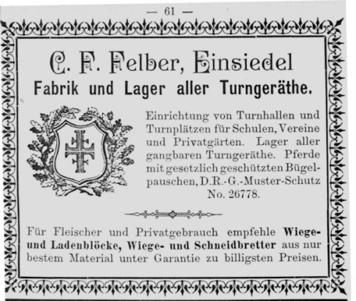 Felberwerbung 1897
