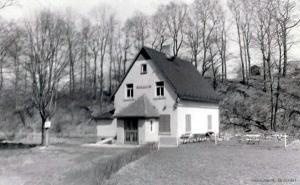 Die Höhle in den 1960er Jahren.