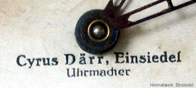 Ziffernblatt Detail
