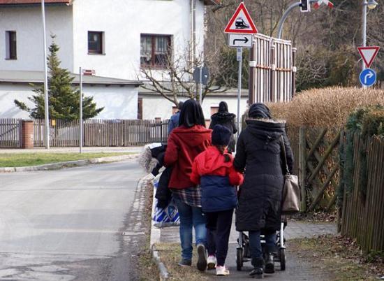 Asylbewerber in Einsiedel
