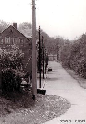 Kurt-Franke-Straße Einsiedel 1986