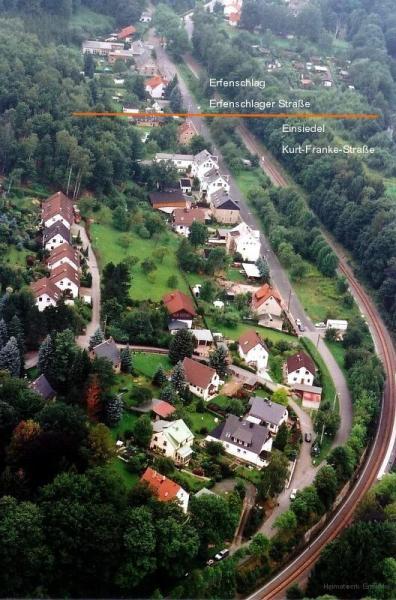 Kurt-Franke-Straße und Am Hübel 2005