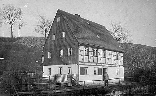 Uferstraße 1 um 1900