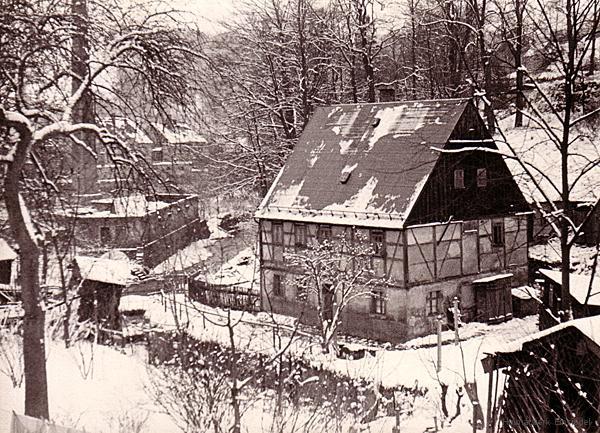 Talsperrengrund 1 in den frühen 1950er Jahren.