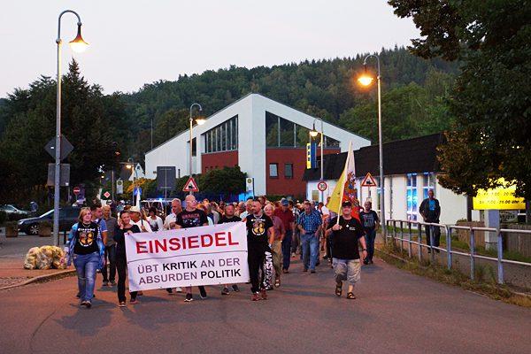 Schweigemarsch Einsiedel 07.09.16