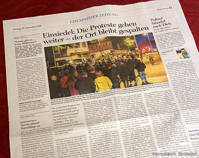 Freie Presse 23. September 2016